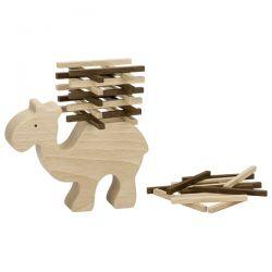 Houten kameel stapelspel, Goki nature 56693