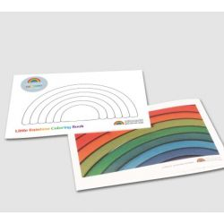 Grimms regenboog kleurboek (engels)