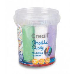 Stoepkrijt klei set 750 gram, Creall 26310