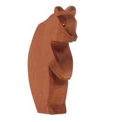 Houten beer groot (staand en kop omlaag), Ostheimer 22006