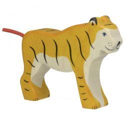 Houten tijger (staand), Holztiger 80136