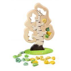 Houten berkenboom groot (puzzel), Bumbu toys 466