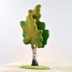 Houten berkenboom groot groen, Bumbu toys 1929