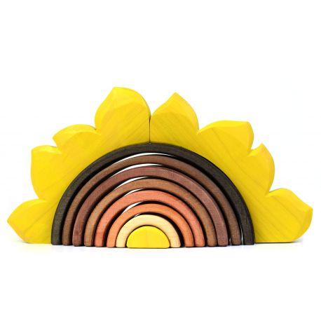 Houten zonnebloem, Bumbu toys 1661
