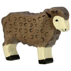 Houten schaap donker, Holztiger 80075