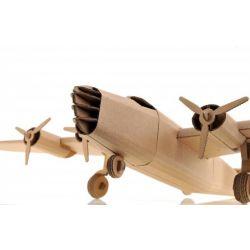 Kartonnen Liberator vliegtuig
