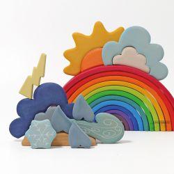 Grimms regenboog en weer combiset (2 stuks)