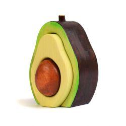 Houten avocado, Bumbu toys 1654