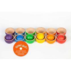 Regenboog bakjes en ballen, Grapat 15-105