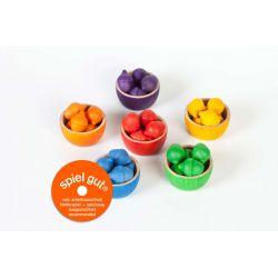 Regenboog bakjes en eikels, Grapat 15-107