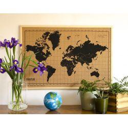 Wereldkaart prikbord, Milimetrado mili005