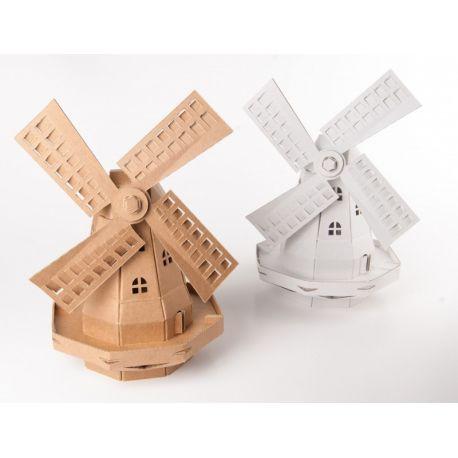 Kartonnen windmolen