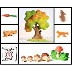 Bumbu toys grote handgemaakte herfst set