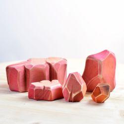 Houten savanne stenen, Bumbu toys 5102