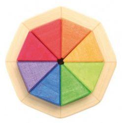 Kleine octagon puzzel, Grimms 43480 - Gaat uit assortiment