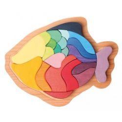 Puzzel vis, Grimms 43682 - Gaat uit assortiment