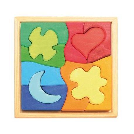 Puzzel 4 vormen