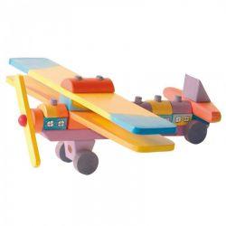 Gekleurd houten vliegtuig, Ostheimer 5510097
