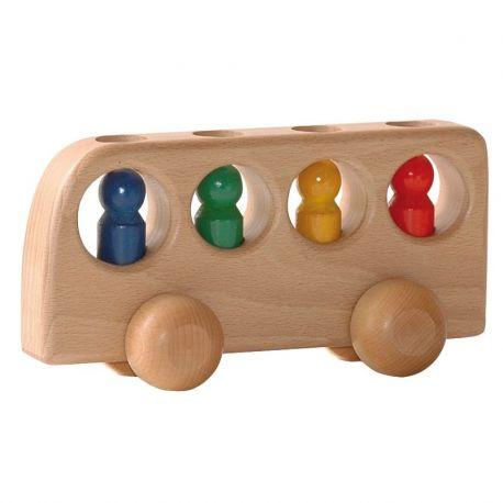 Bus met 4 passagiers