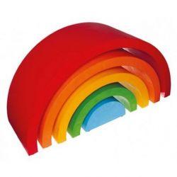 Reuzen houten regenboog, Grimms 10702