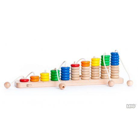 Abacus met touwen