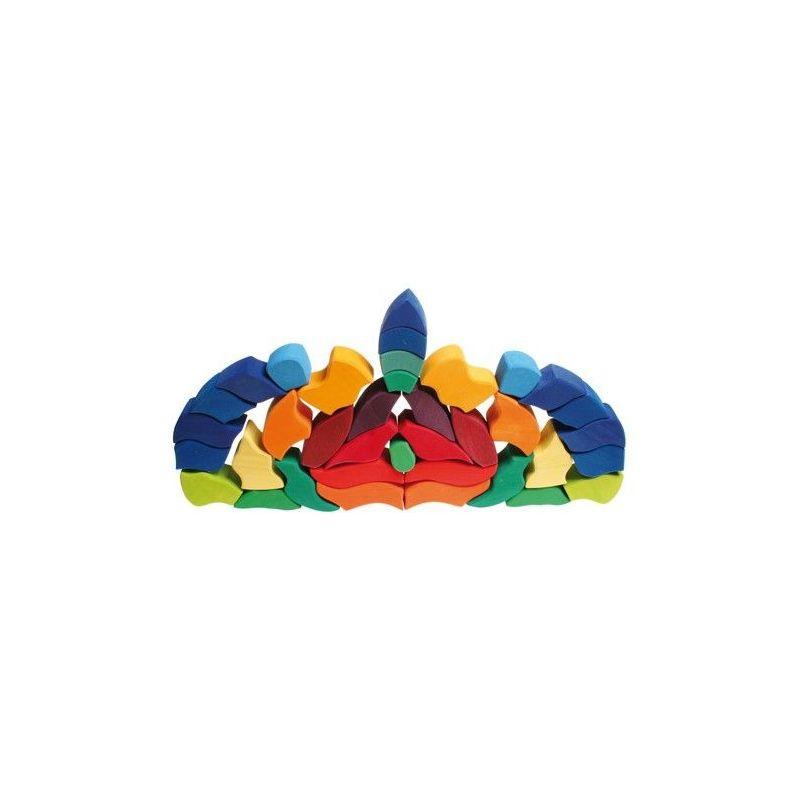 Grimms 43681 Duurzaam Houten Grote Grimms Puzzel Vlinder