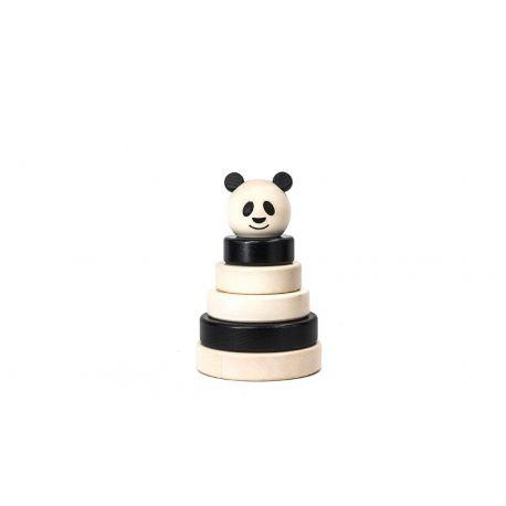 Houten panda stapeltoren, Bajo 39390