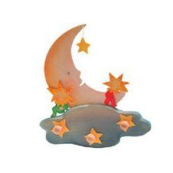 Kapstok maan met sterren