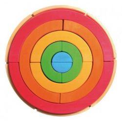 Grimms regenboog cirkel bouwpakket, gaat uit assortiment