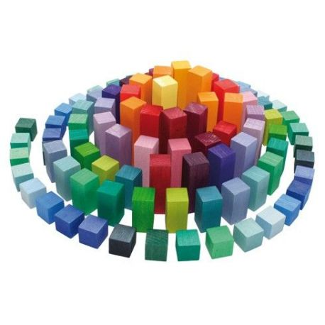 Blokkenpiramide klein, Grimms 42080
