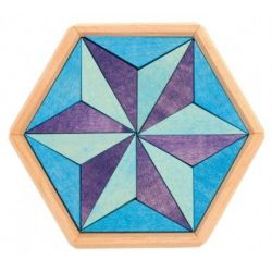 Hexagon puzzel, Grimms 43331