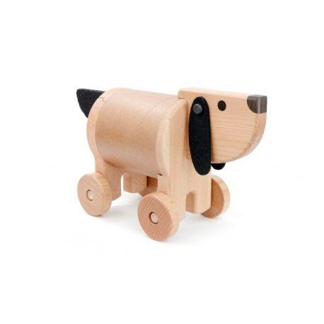 Houten hond kluisje, Bajo 22970
