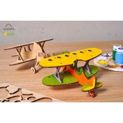 Tweedekker vliegtuig, Ugears kids 80011