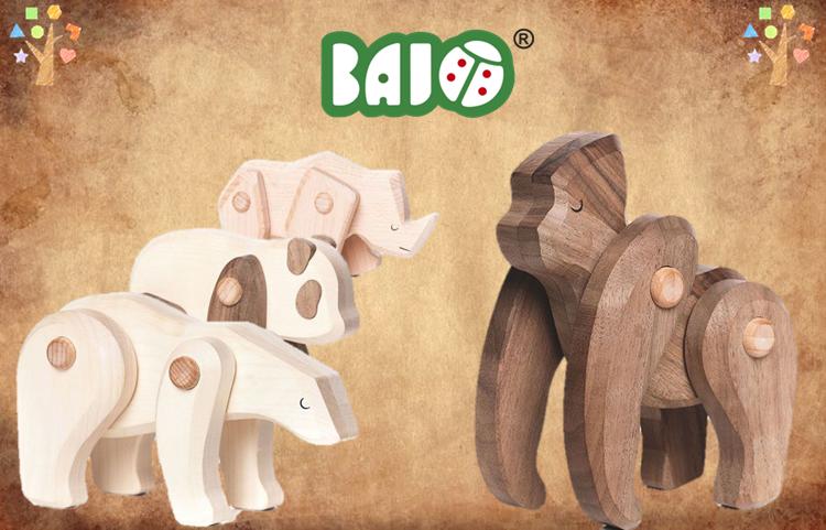 Bajo toys - Bedreigde diersoorten