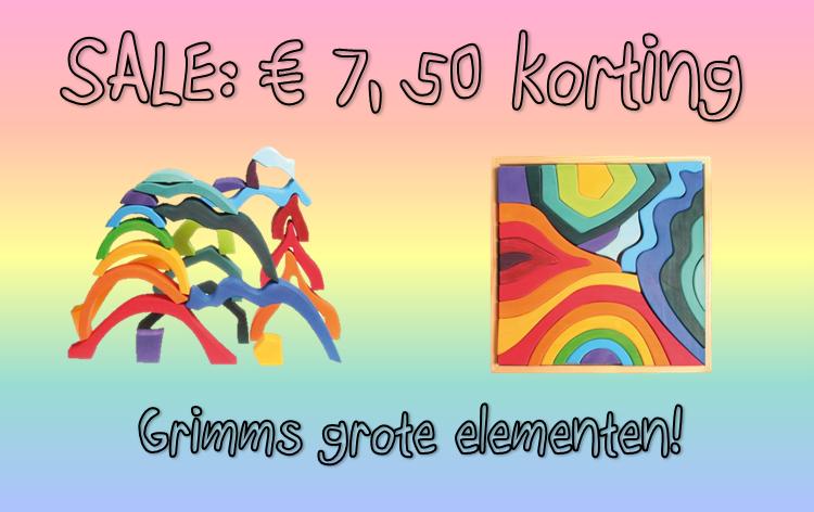 €7,50 korting op de grote Grimm's elementen